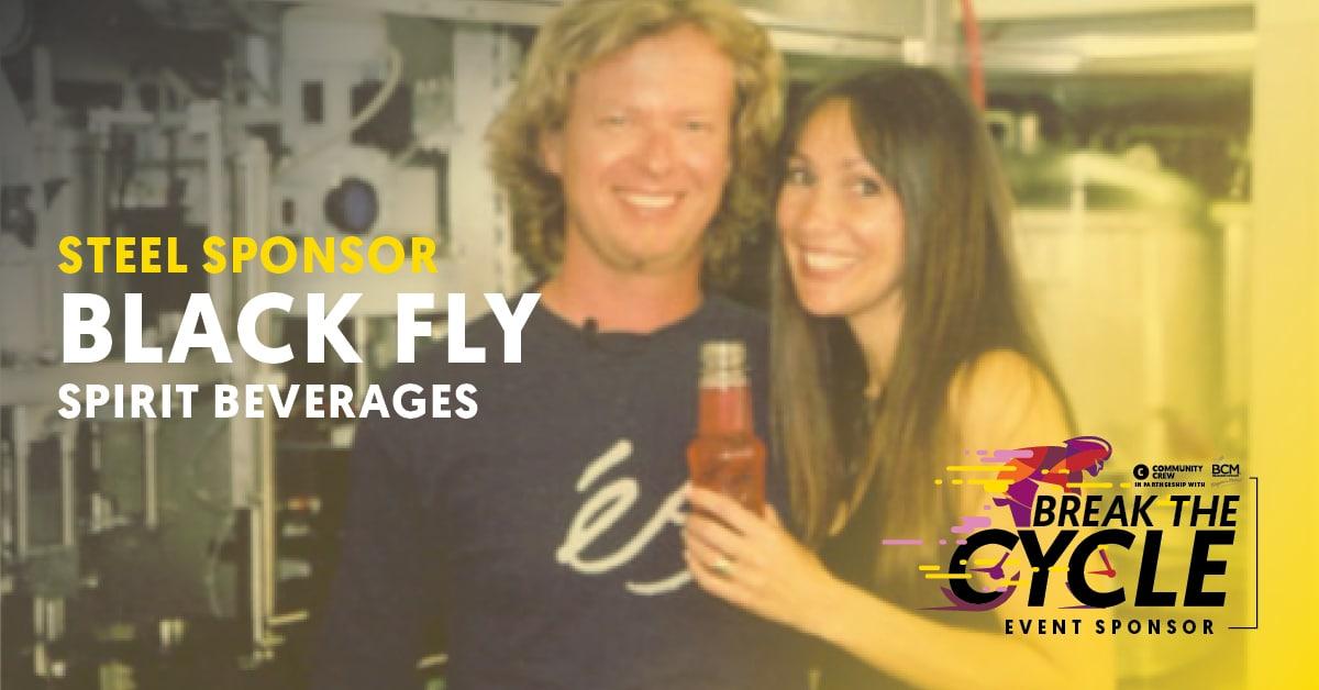 Break The Cycle Sponsor - Black Fly Beverages