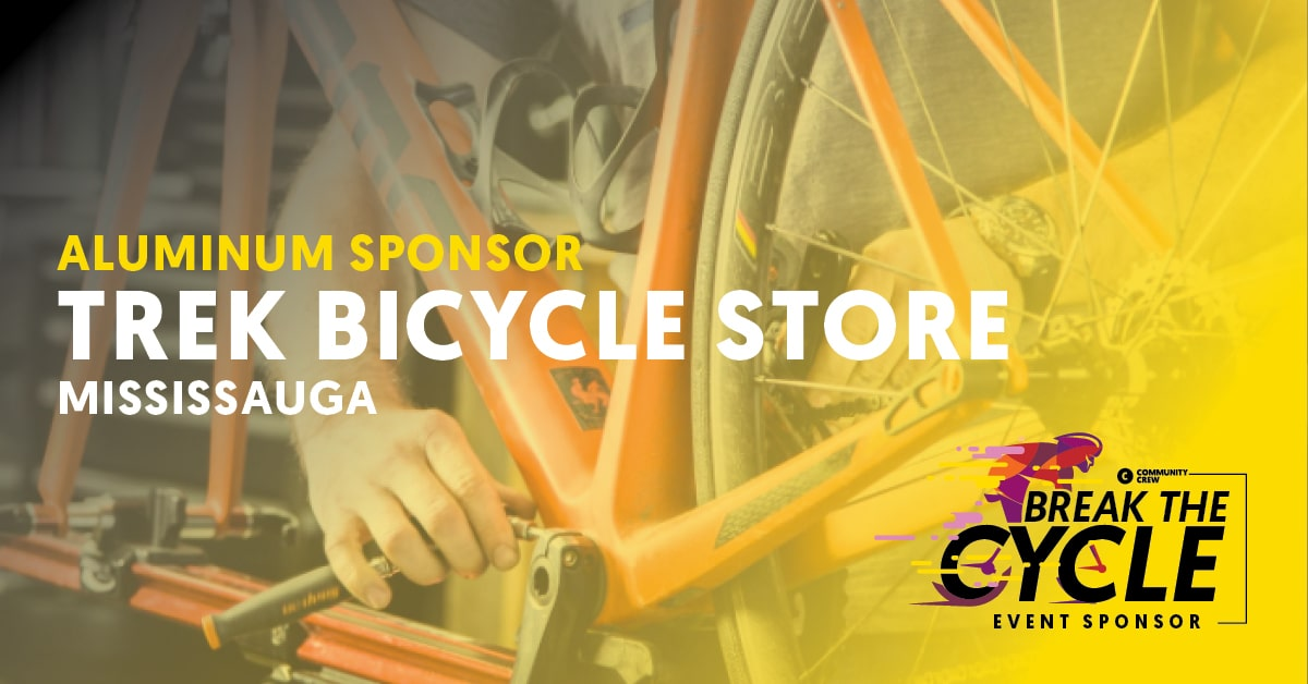 Trek Mississauga Break The Cycle Sponsor